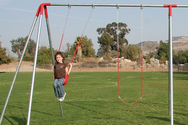 A Frame Metal Swing Sets