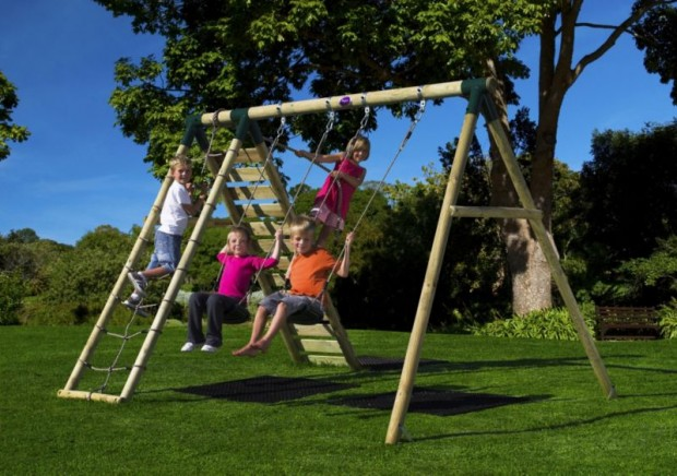 Backyard Swing Sets