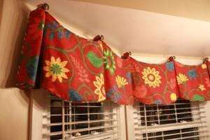 Bay Window Valances For Kitchens