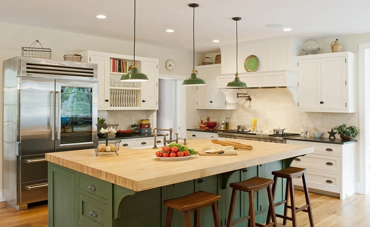 Farmhouse kitchen colors for What are the different kitchen designs