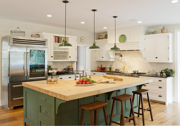6 Elements To Create Farmhouse Kitchen Designs