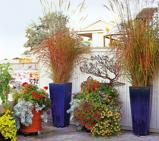 Tips to landscaping with ornamental grass for Tall ornamental grasses for pots