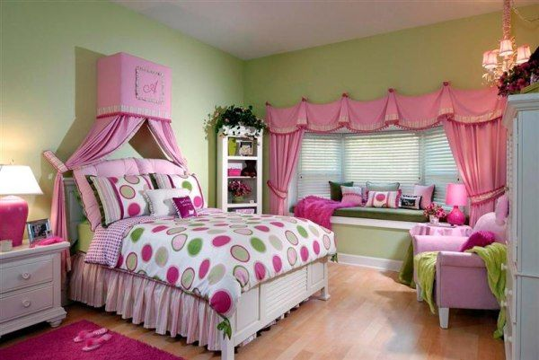 Girls Bedroom Themes