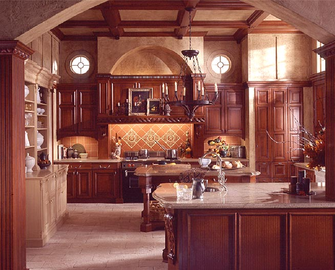Old World Style Kitchen Design