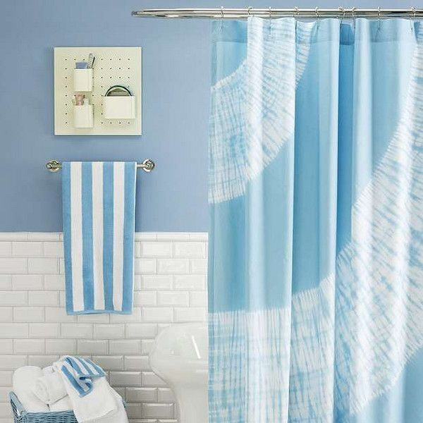 Oversized Shower Curtain