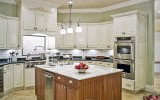 <b>4 Color Choices To Make Over Kitchen Cabinet</b>