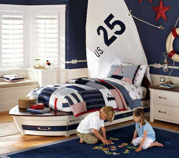 Tips To Decorate Boys Bedroom With Nautical Theme