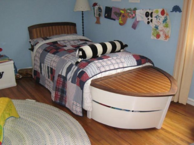 Speed Boat Sailboat Bed