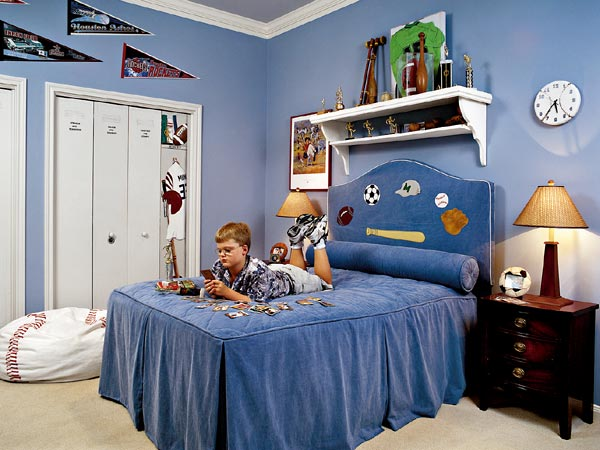 7 ideas sport themed bedrooms for Themed bedrooms for boys