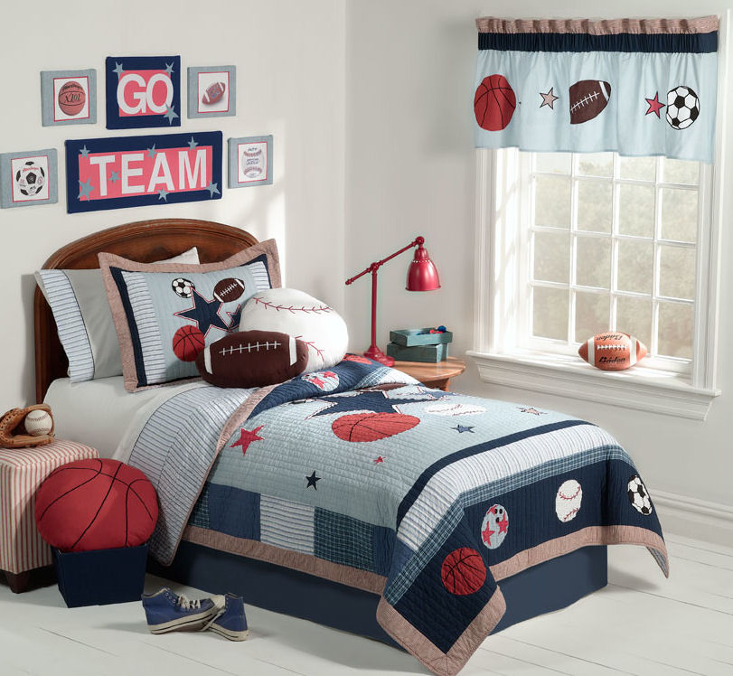 7 ideas sport themed bedrooms