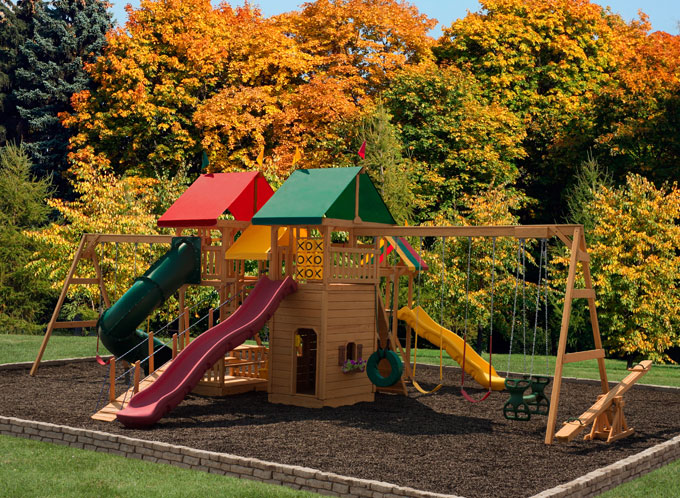 Yard Swing Sets