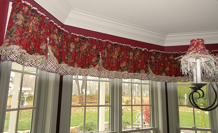 Bay Window Valances