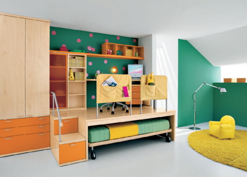 Kids Bedroom Paint Color