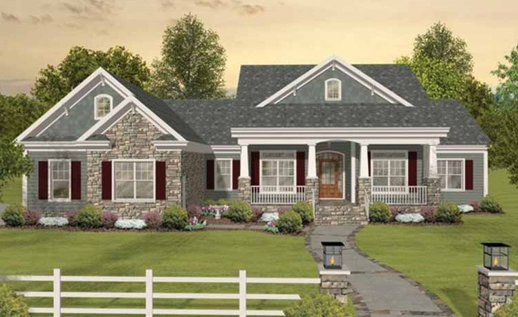 . 3 Bedroom House Plan Without Garage