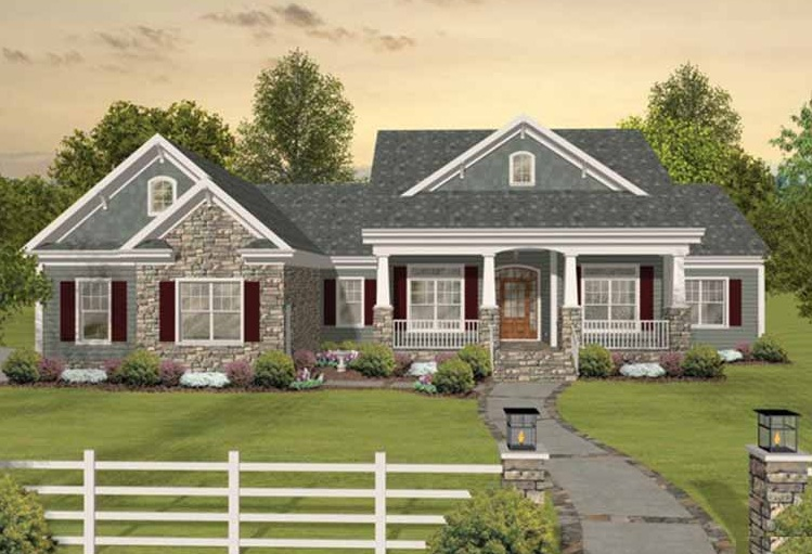 Craftsman House Plans Porch