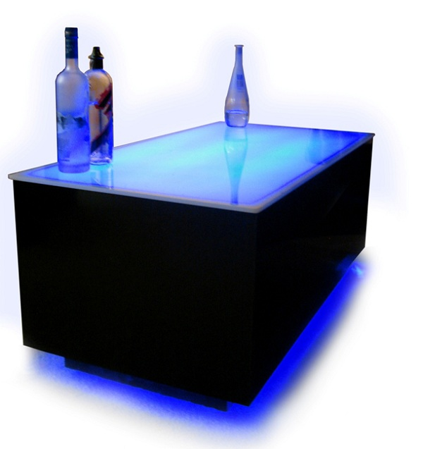 Acrylic Coffee Table Square