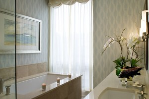 Bathroom Floral Arrangements