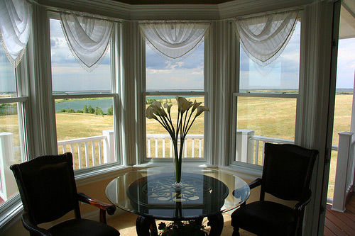 Kitchen Bay Window Curtains. Bedroom Bay Window Curtain Ideas. Bay ...