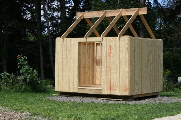 Build A Garden Tool Shed