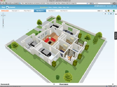 can you design a house online