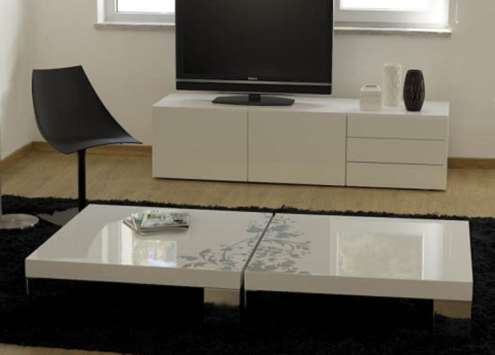 Designer Coffee Tables White