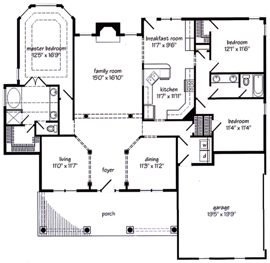 3 advantages of planning floor plans for new homes for New house blueprints