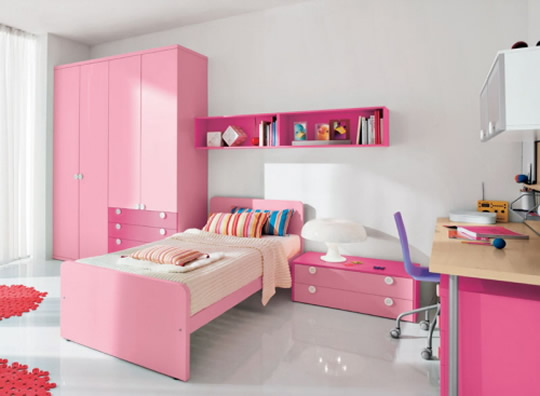 Girls Bedroom Pink Paint Ideas