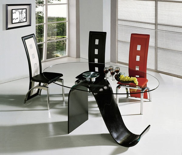 Glass Dining Table Designs