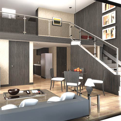 4 benefits of house plans with loft for Plan de loft moderne