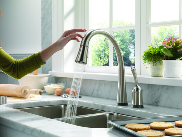 Installing Kitchen Faucets