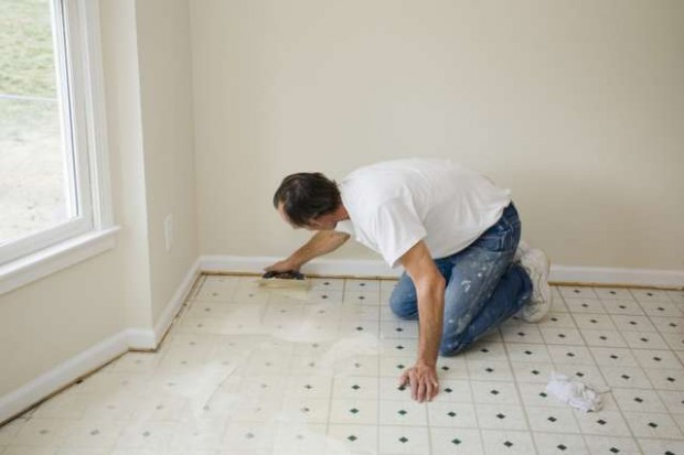 Installing Vinyl Floor Tiles On Concrete