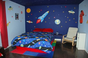 Tips To Decorate Boys Bedroom With Education Theme