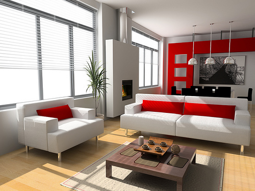 Living Room White Furniture Ideas