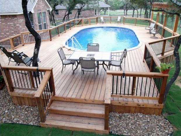 Outdoor Above Ground Pool