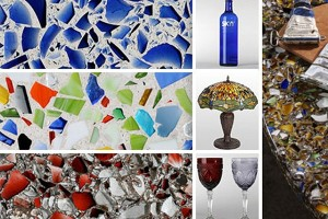Recycled Glass Tile Sheets