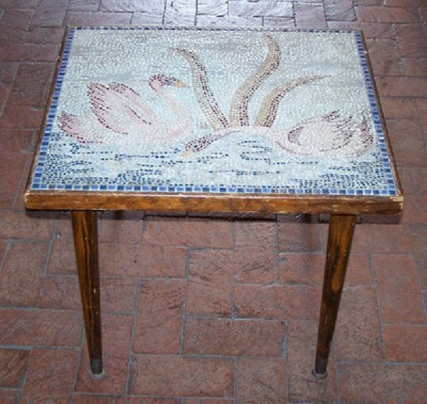Rock Table Folk Art