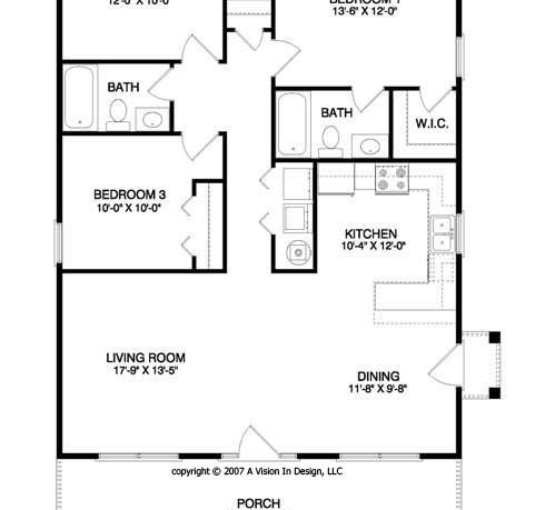 Floor Plan For Small Houses Home Design And Style