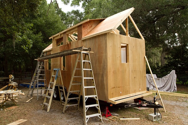 Tiny A Frame House