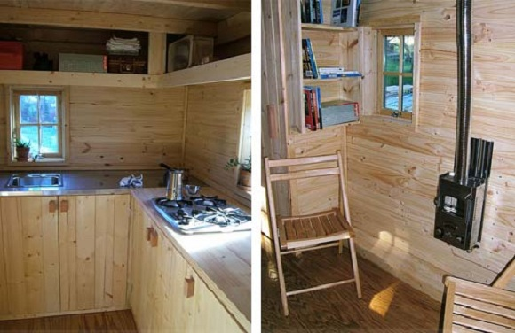 tumbleweed tiny house interior - Tumbleweed Tiny House Interior