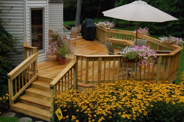 Wood Deck Design Pictures