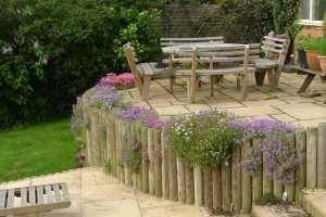 Wooden Retaining Wall Pictures