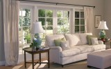 <b>Tips To Create The Right Bay Window Dressing On Living Room</b>