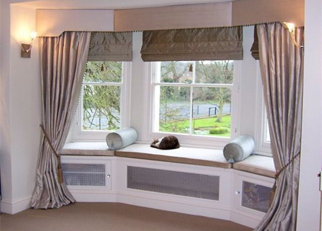 Bay Window Valance Ideas