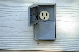 Install Electrical Outlet Outdoor