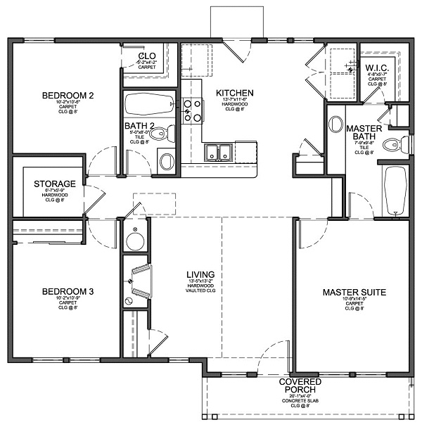 Floor Plans For Small House