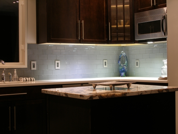Metal Kitchen Backsplash