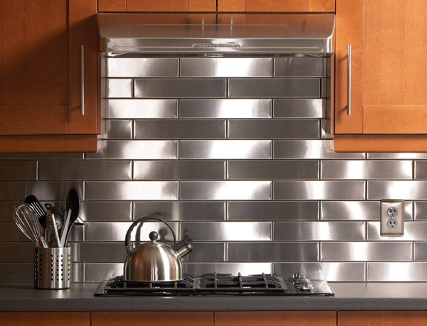 stainless steel backsplashes for kitchens 4 benefits of metal tile backsplash 25938