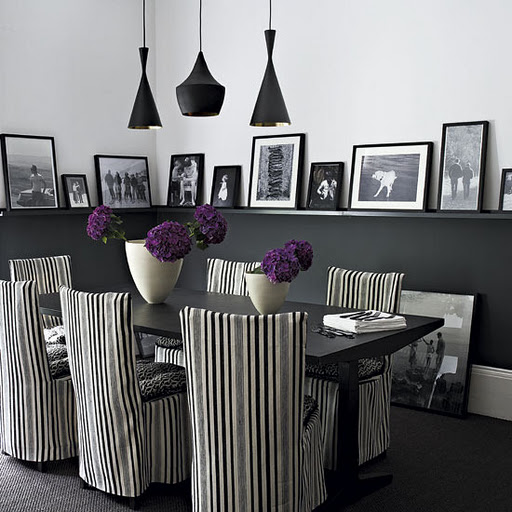 Contemporary Gothic Dining Room Tables