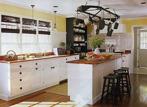 Cottage Style Kitchens Photos