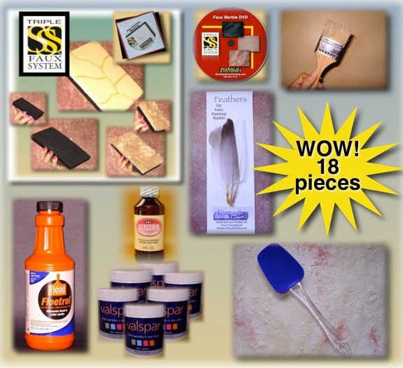 Faux Painting Kits